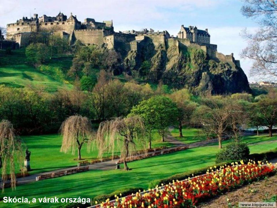 Skócia, a várak országa