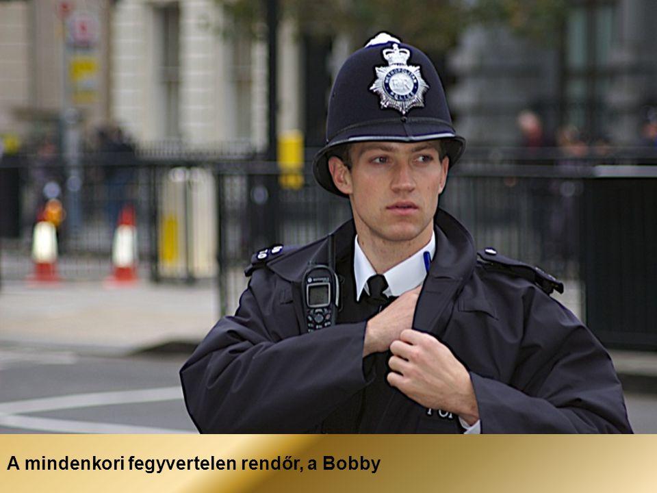 A mindenkori fegyvertelen rendőr, a Bobby