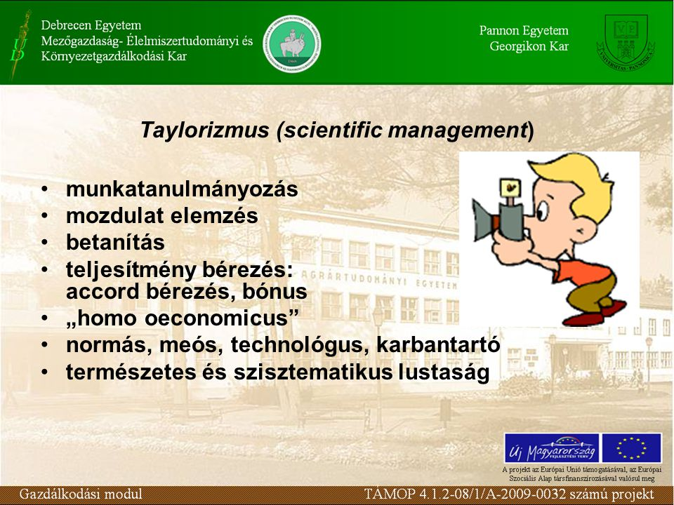 Taylorizmus (scientific management)