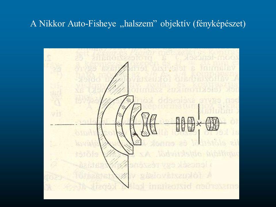 """A Nikkor Auto-Fisheye """"halszem objektív (fényképészet)"""