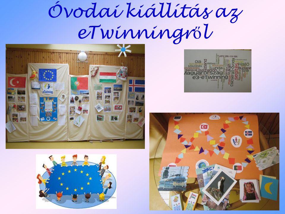 Óvodai kiállítás az eTwinningről