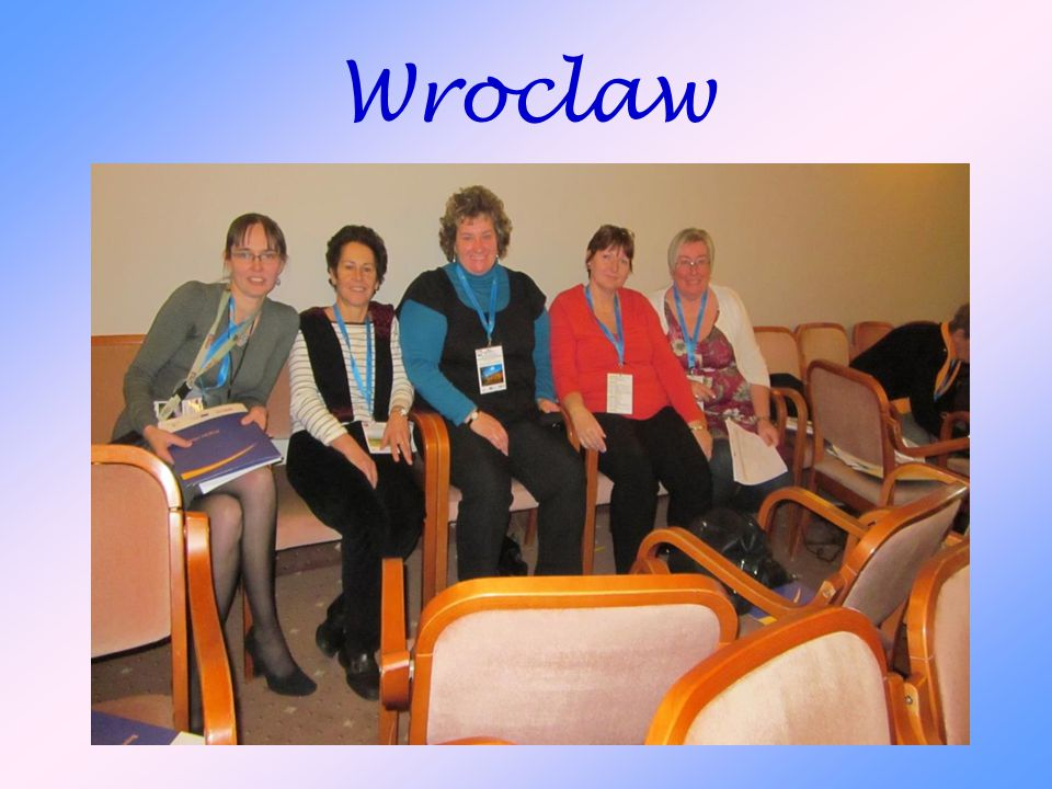 """Wroclaw Ezen a képen """"boldog egymásra találásunk látható  (ekkor még a lengyel óvónővel)"""