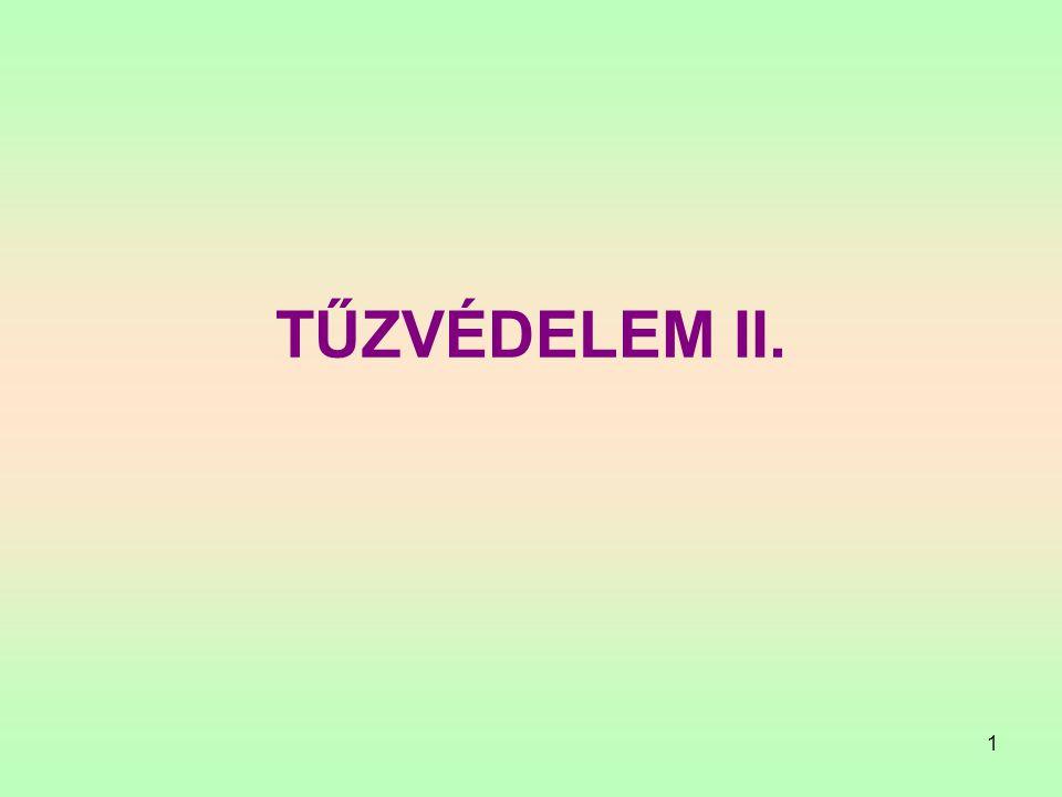 TŰZVÉDELEM II.