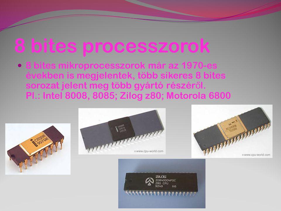 8 bites processzorok