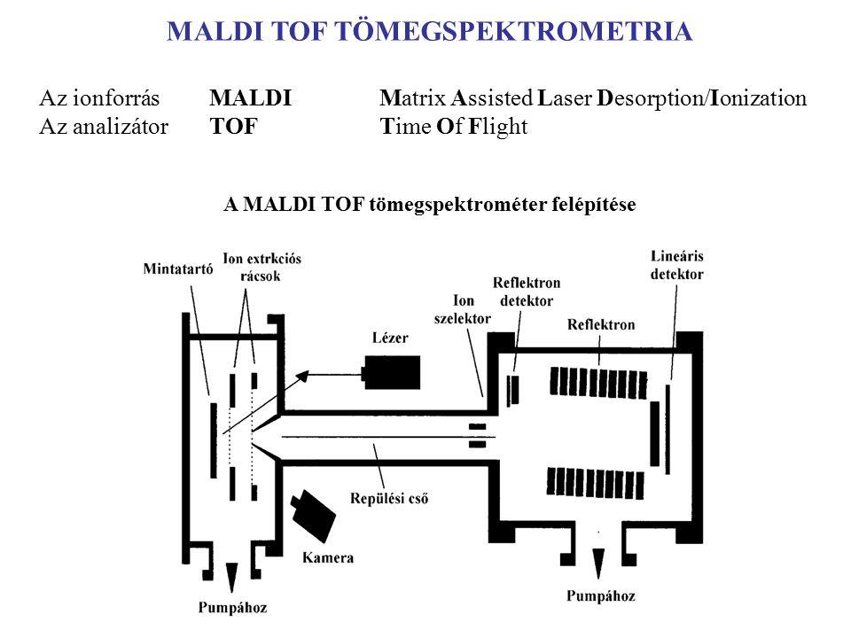 A MALDI TOF tömegspektrométer felépítése