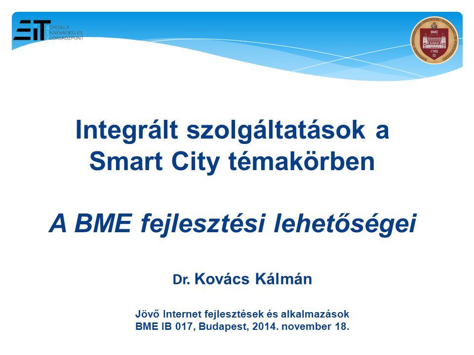 Integrált szolgáltatások a Smart City témakörben