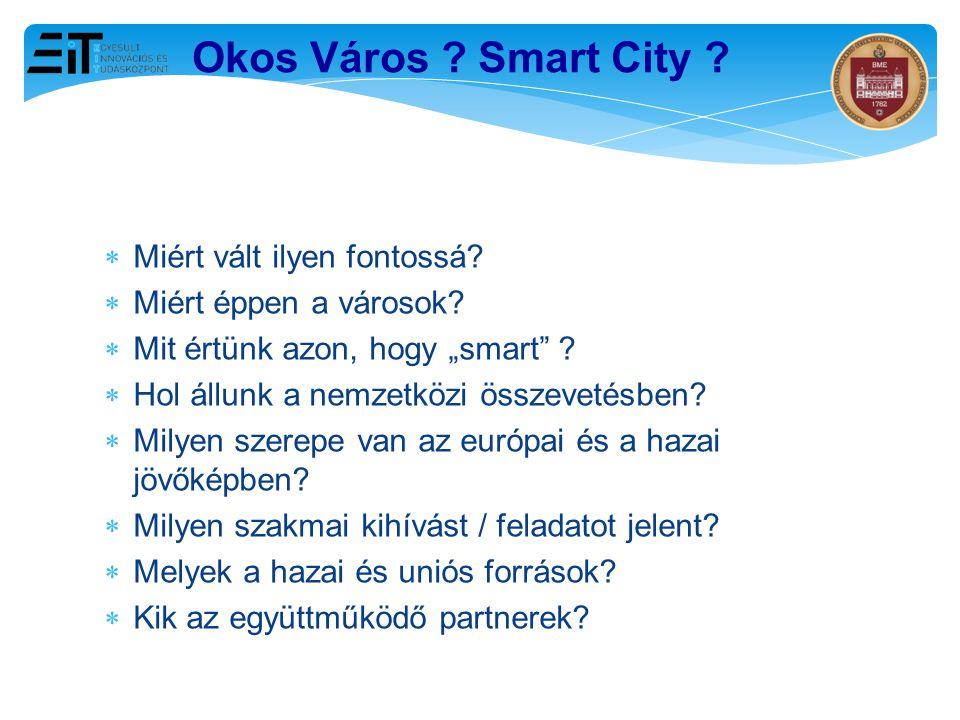 Okos Város Smart City Miért vált ilyen fontossá