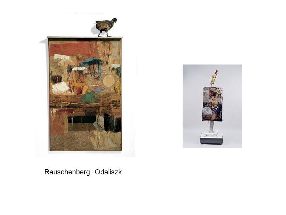 Rauschenberg: Odaliszk
