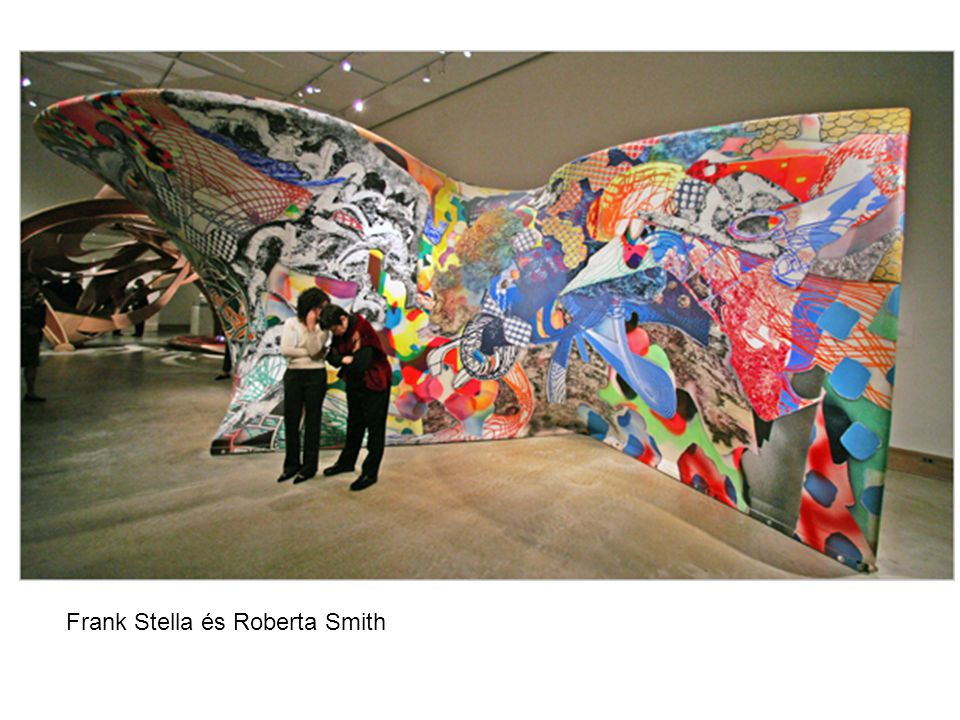 Frank Stella és Roberta Smith