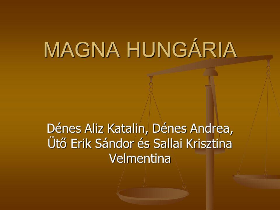 MAGNA HUNGÁRIA Dénes Aliz Katalin, Dénes Andrea, Ütő Erik Sándor és Sallai Krisztina Velmentina.