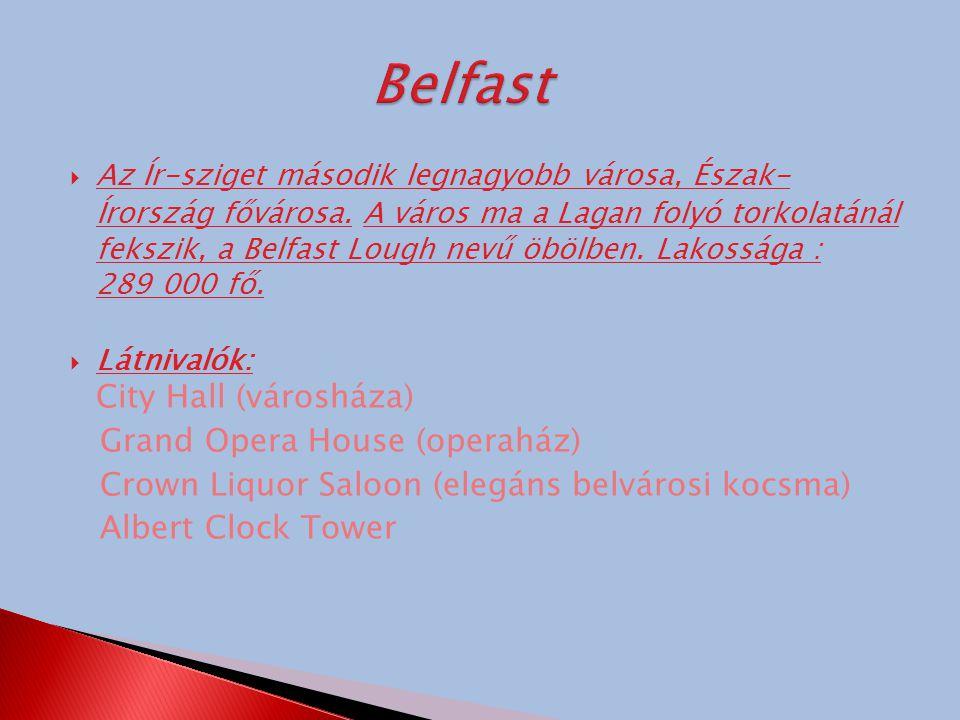 Belfast Grand Opera House (operaház)
