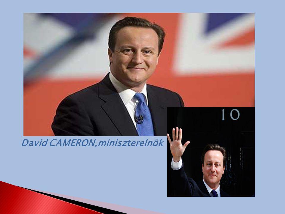 David CAMERON,miniszterelnök