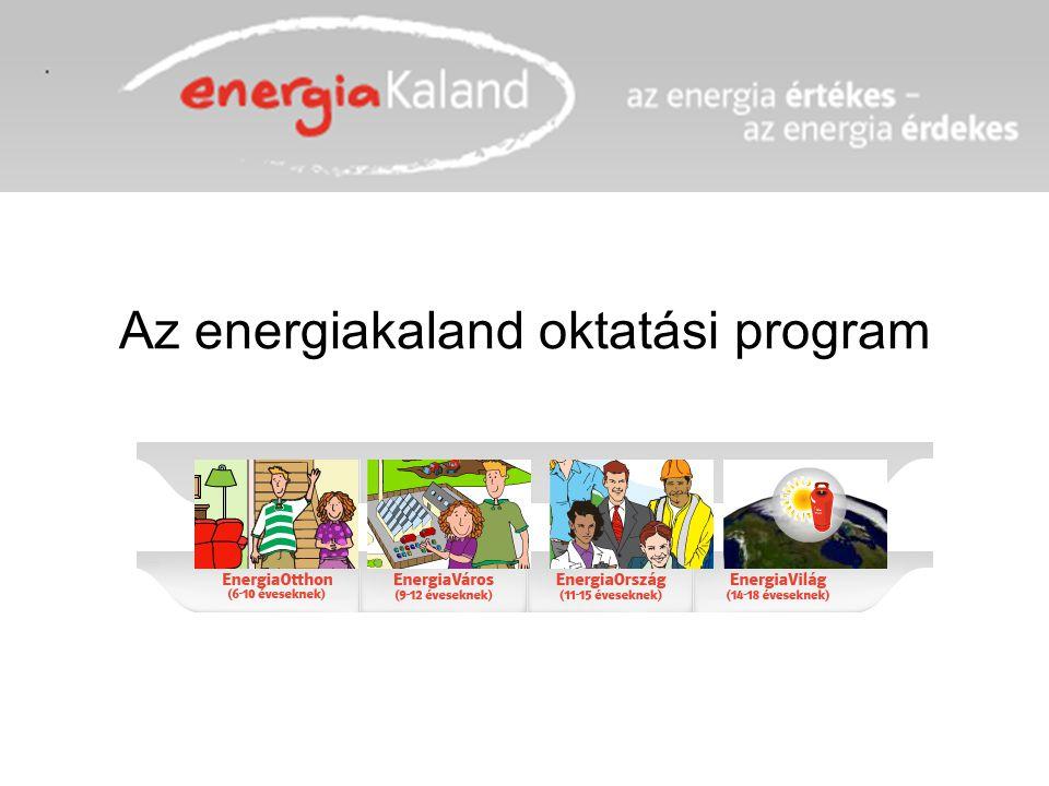 Az energiakaland oktatási program