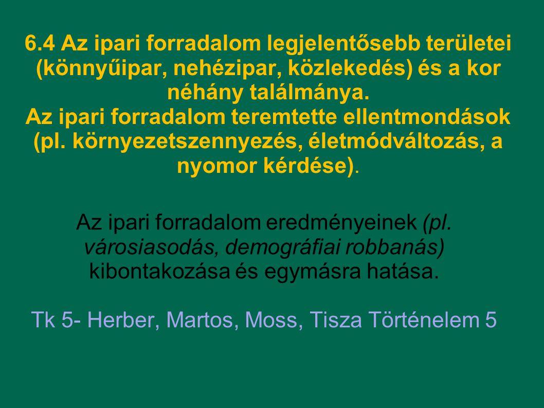 Tk 5- Herber, Martos, Moss, Tisza Történelem 5