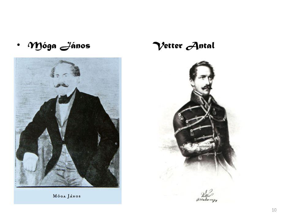 Móga János Vetter Antal
