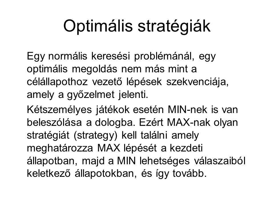 Optimális stratégiák