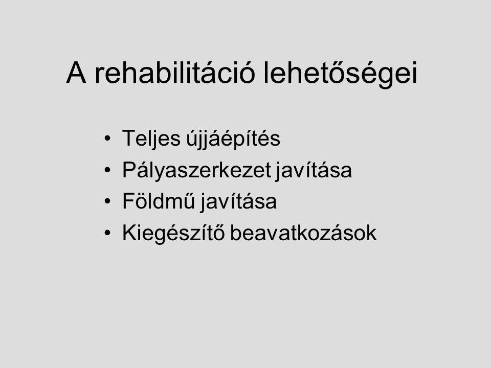 A rehabilitáció lehetőségei