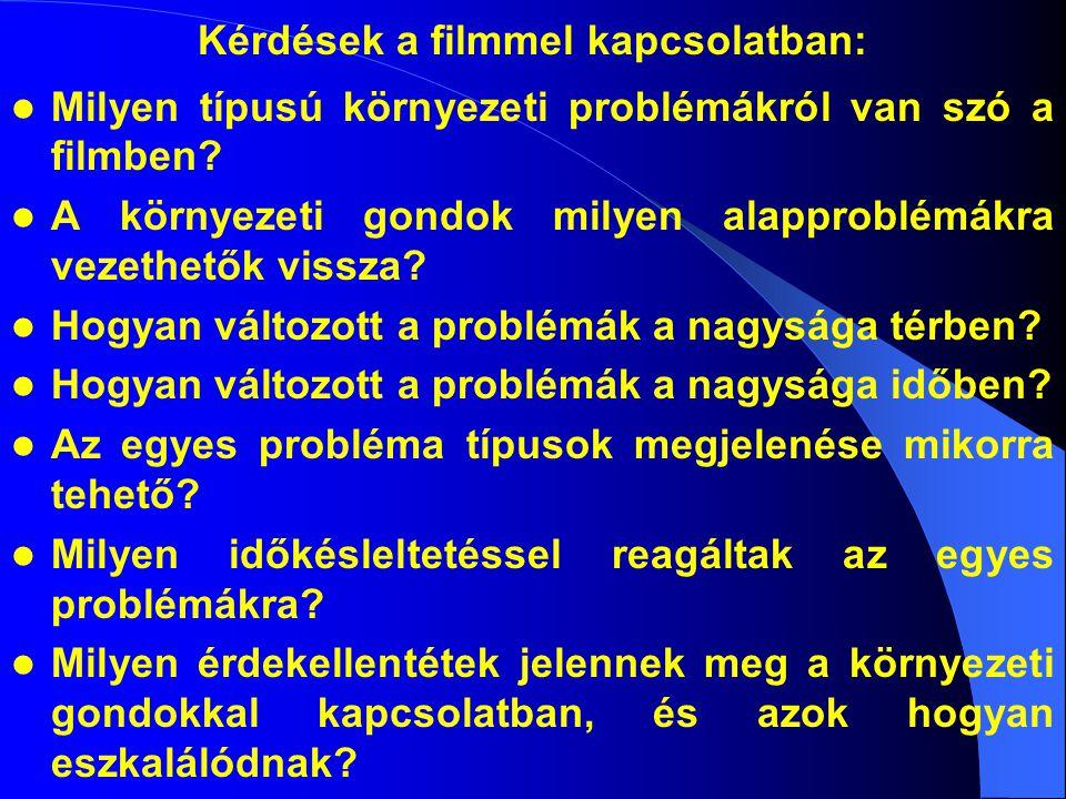 Kérdések a filmmel kapcsolatban: