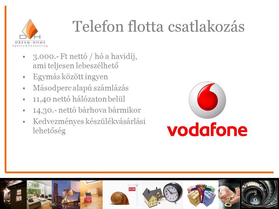 Telefon flotta csatlakozás