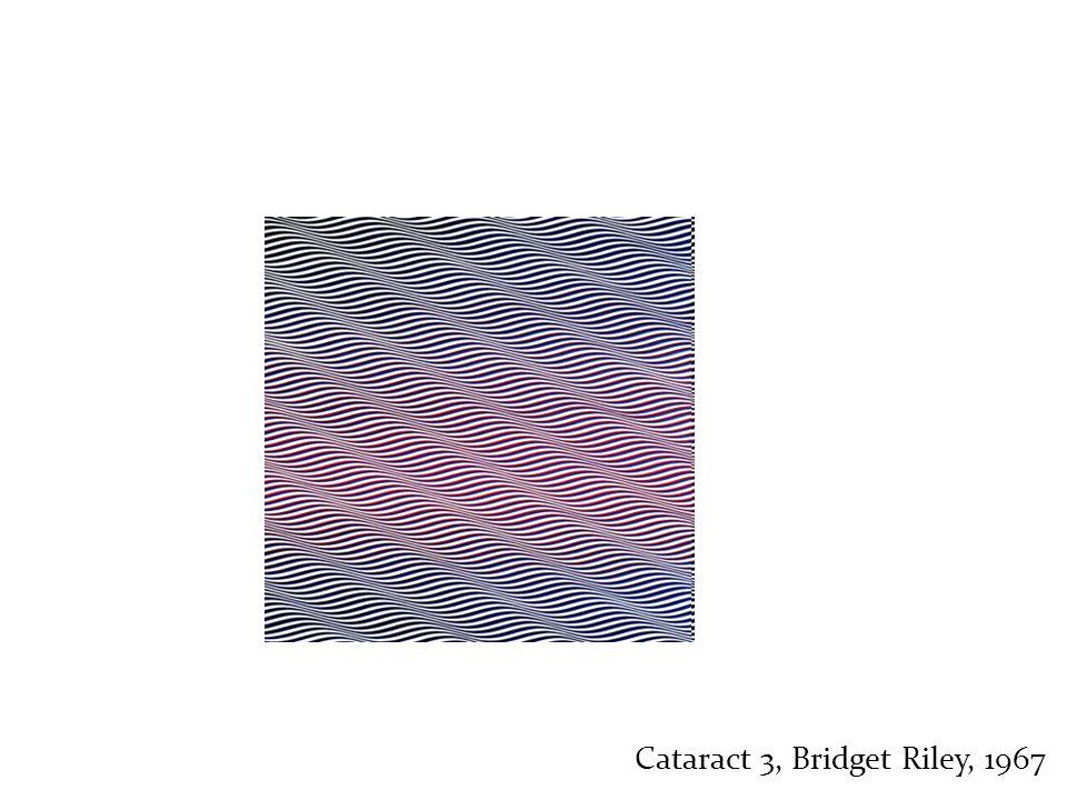 Cataract 3, Bridget Riley, 1967