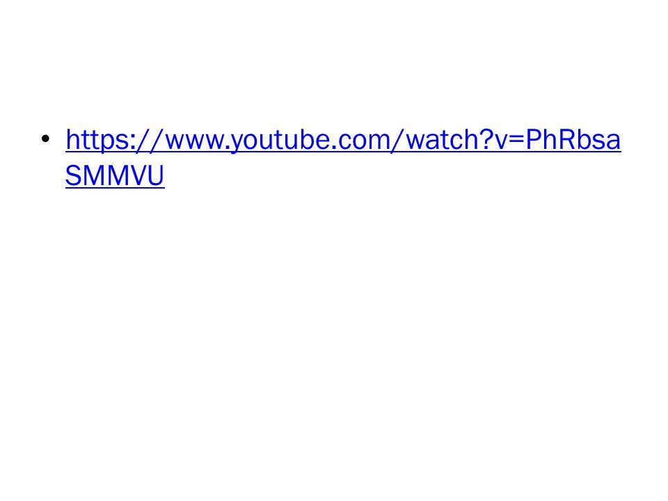 https://www.youtube.com/watch v=PhRbsaSMMVU
