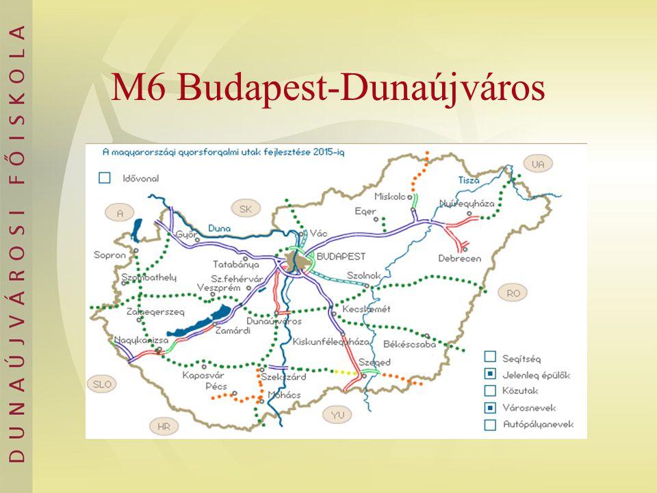 M6 Budapest-Dunaújváros