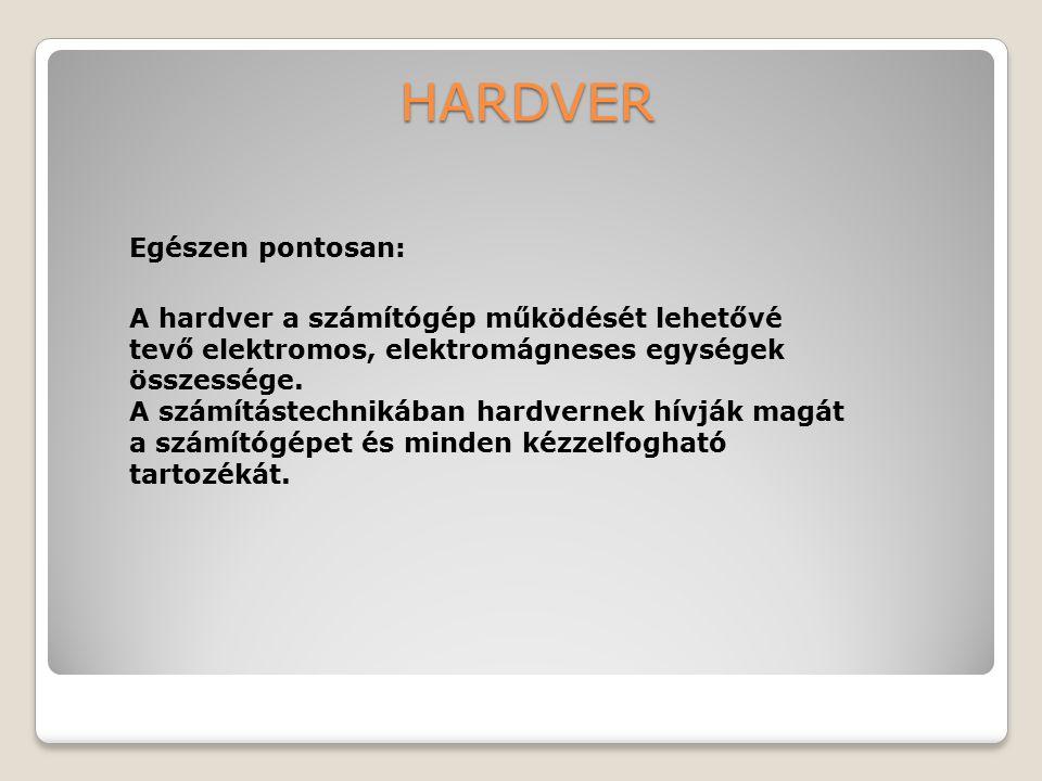 HARDVER Egészen pontosan: