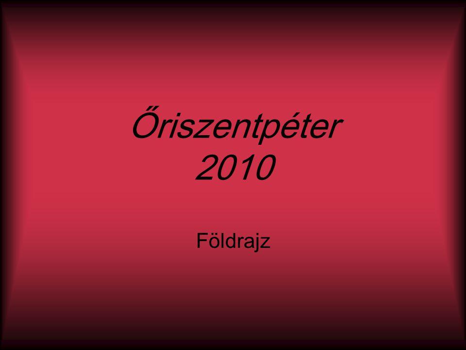 Őriszentpéter 2010 Földrajz