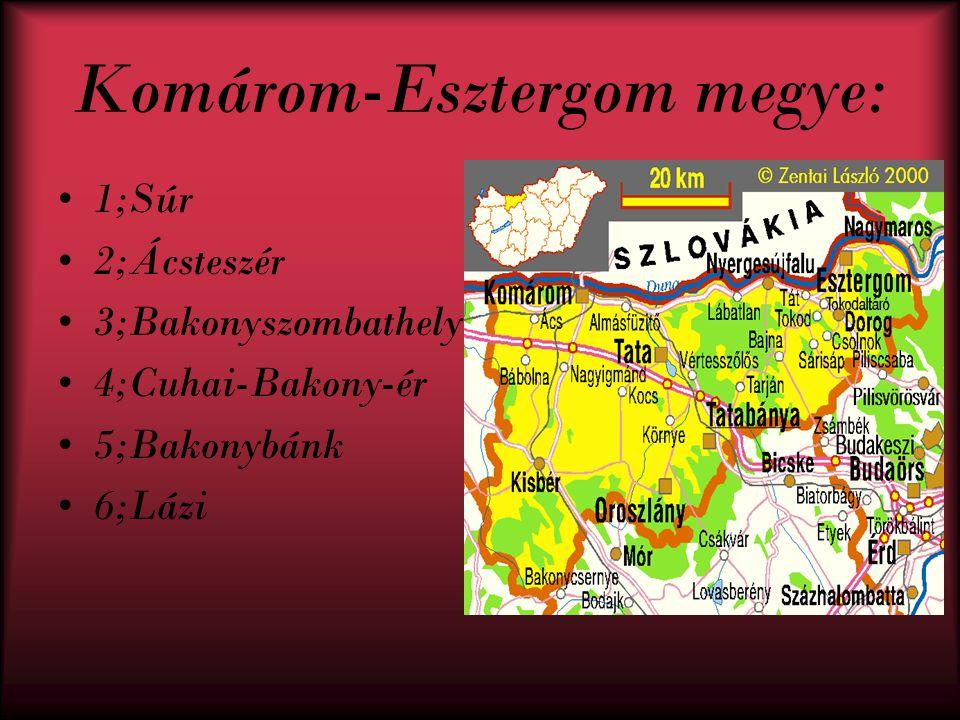 Komárom-Esztergom megye: