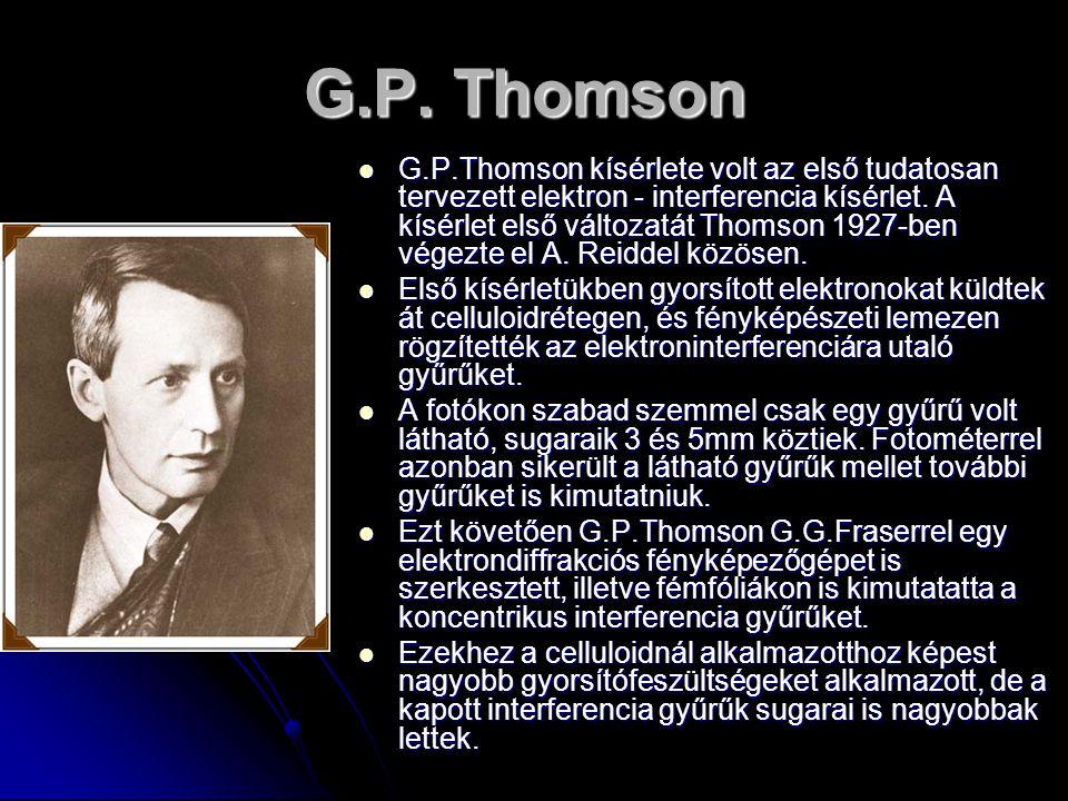 G.P. Thomson