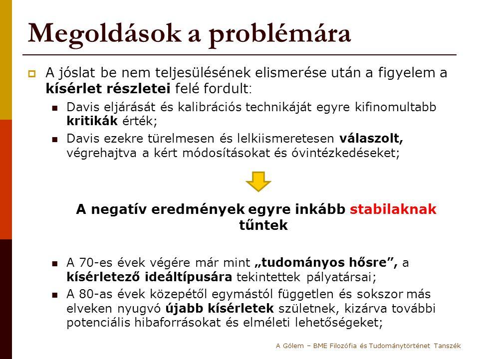 Megoldások a problémára