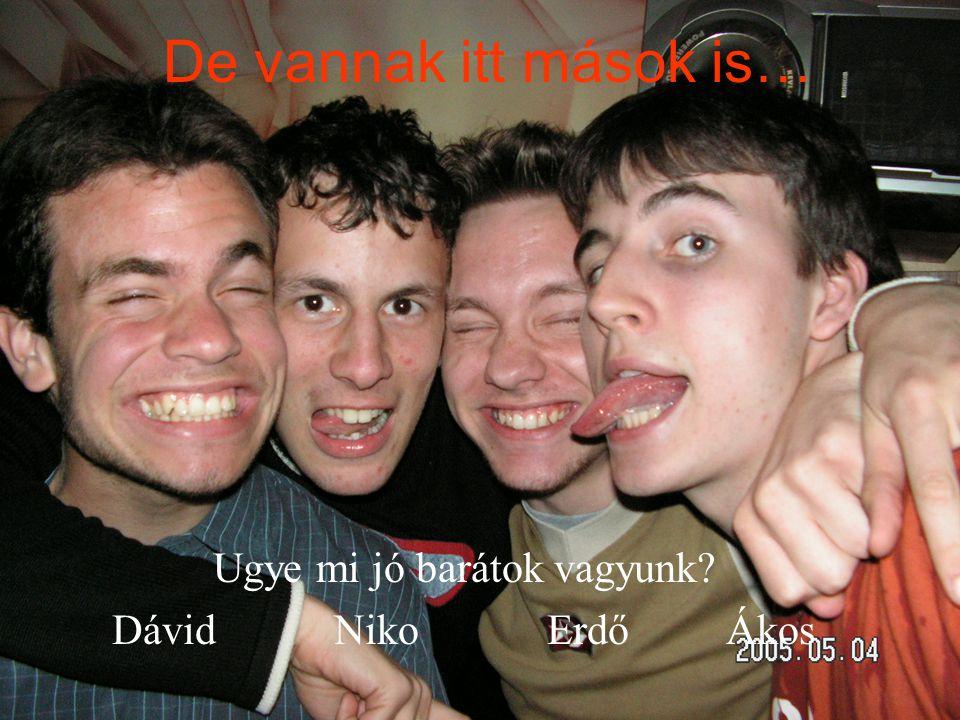 Ugye mi jó barátok vagyunk Dávid Niko Erdő Ákos