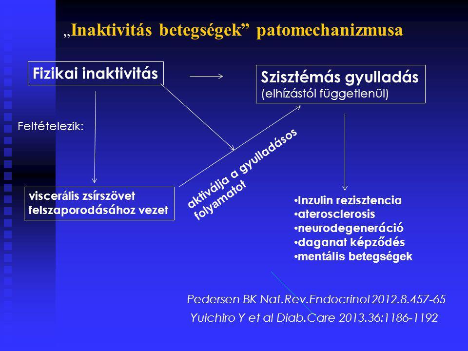 """""""Inaktivitás betegségek patomechanizmusa"""