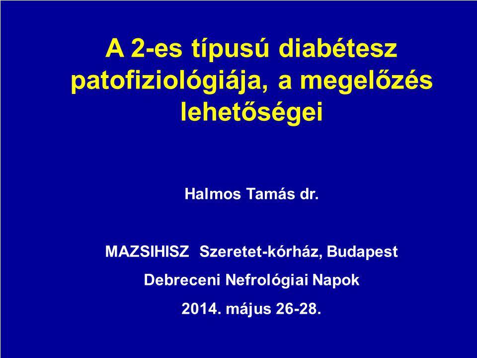 A 2-es típusú diabétesz patofiziológiája, a megelőzés lehetőségei