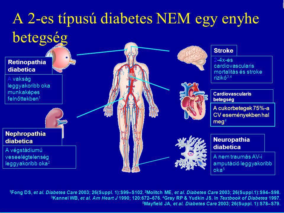 A 2-es típusú diabetes NEM egy enyhe betegség