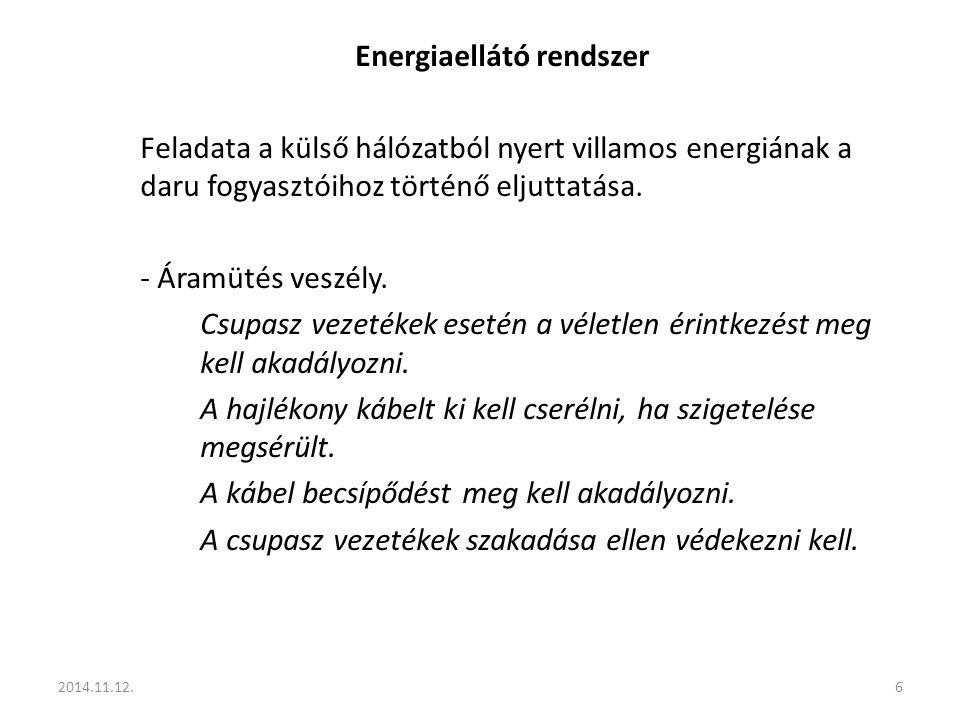 Energiaellátó rendszer