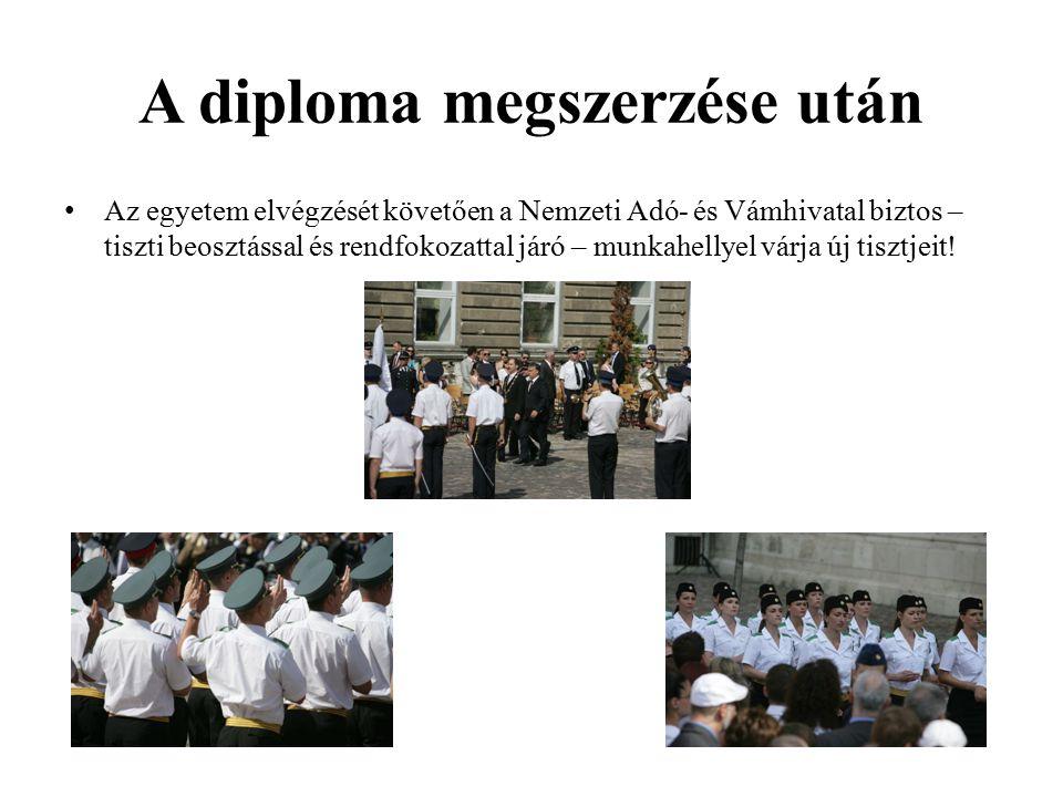 A diploma megszerzése után