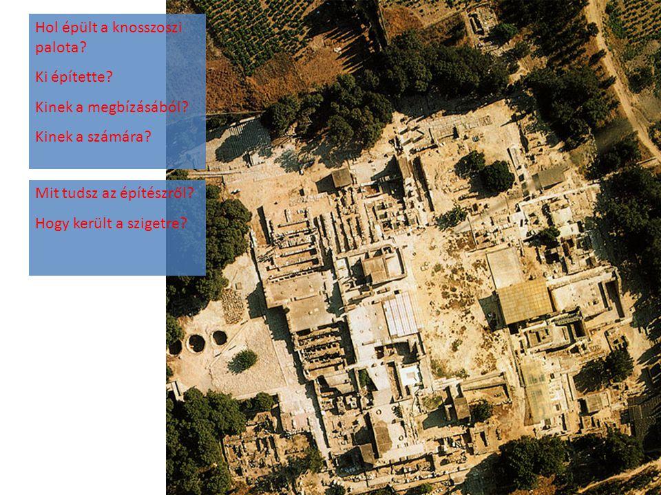 Hol épült a knosszoszi palota