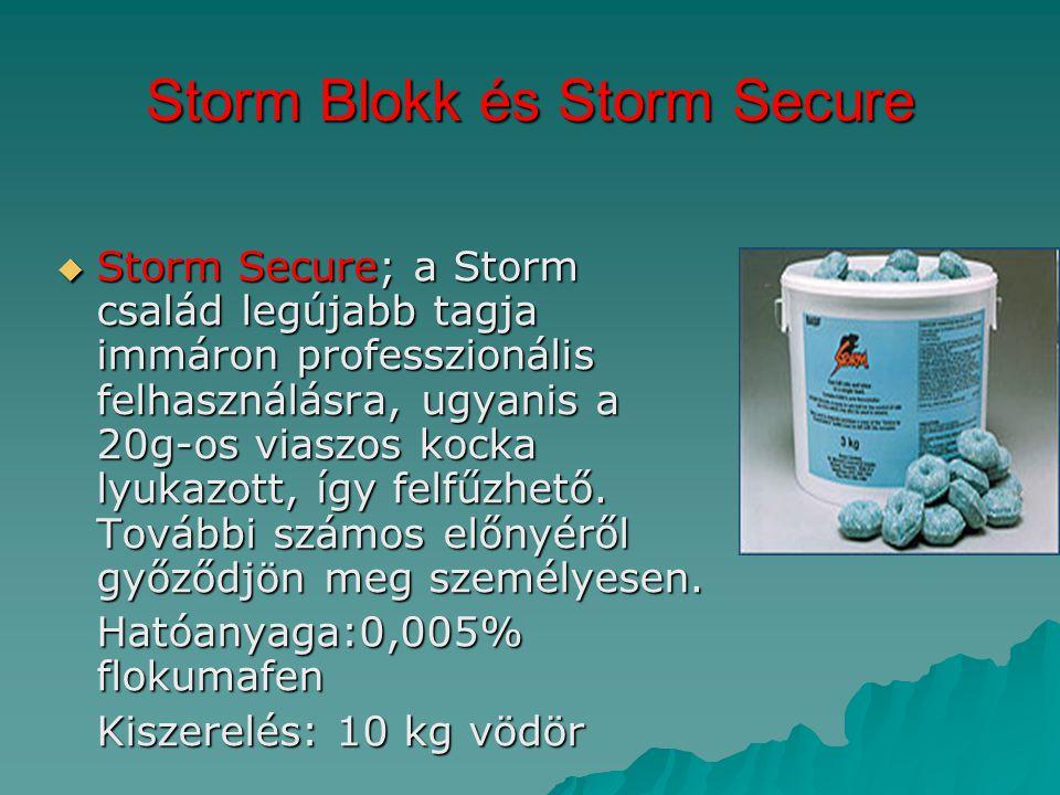 Storm Blokk és Storm Secure