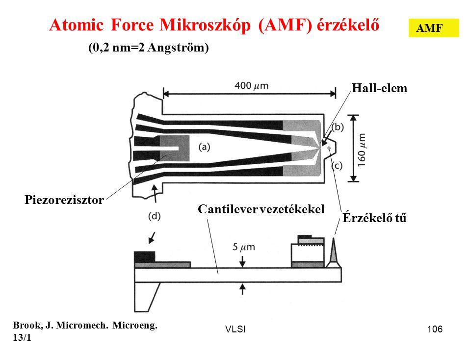 Atomic Force Mikroszkóp (AMF) érzékelő