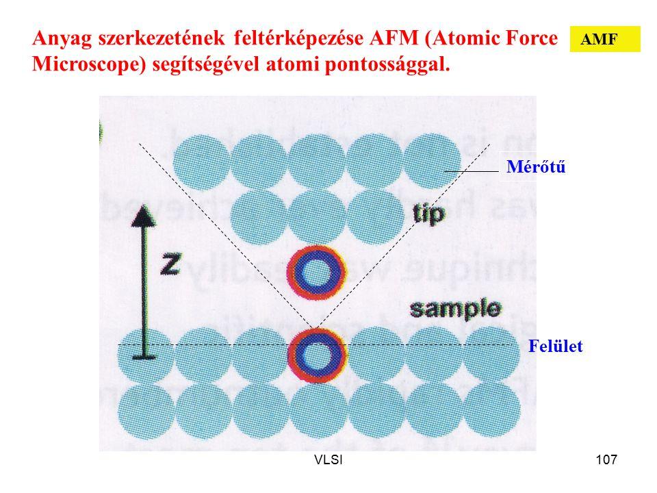 Anyag szerkezetének feltérképezése AFM (Atomic Force