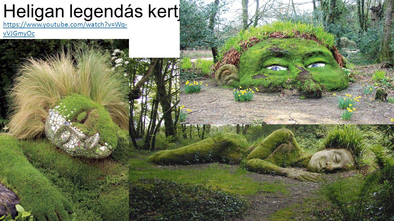 Heligan legendás kertje