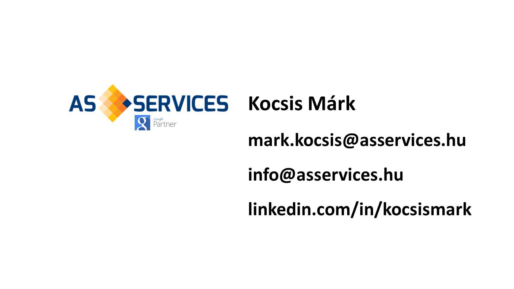 Kocsis Márk mark.kocsis@asservices.hu info@asservices.hu