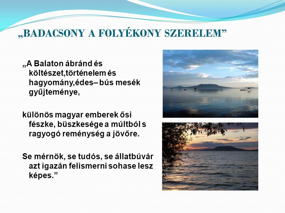 """""""BADACSONY A FOLYÉKONY SZERELEM"""