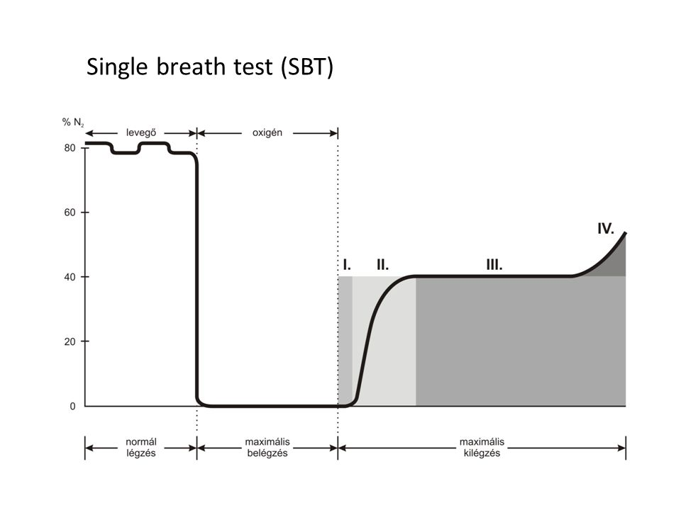 Single breath test (SBT)