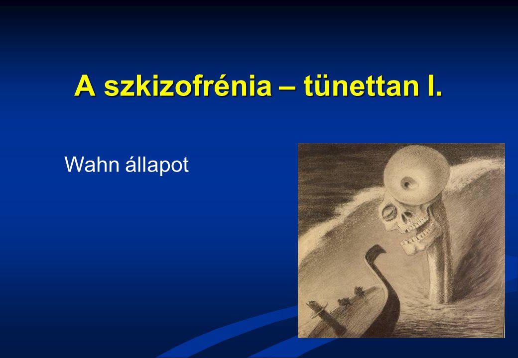 A szkizofrénia – tünettan I.