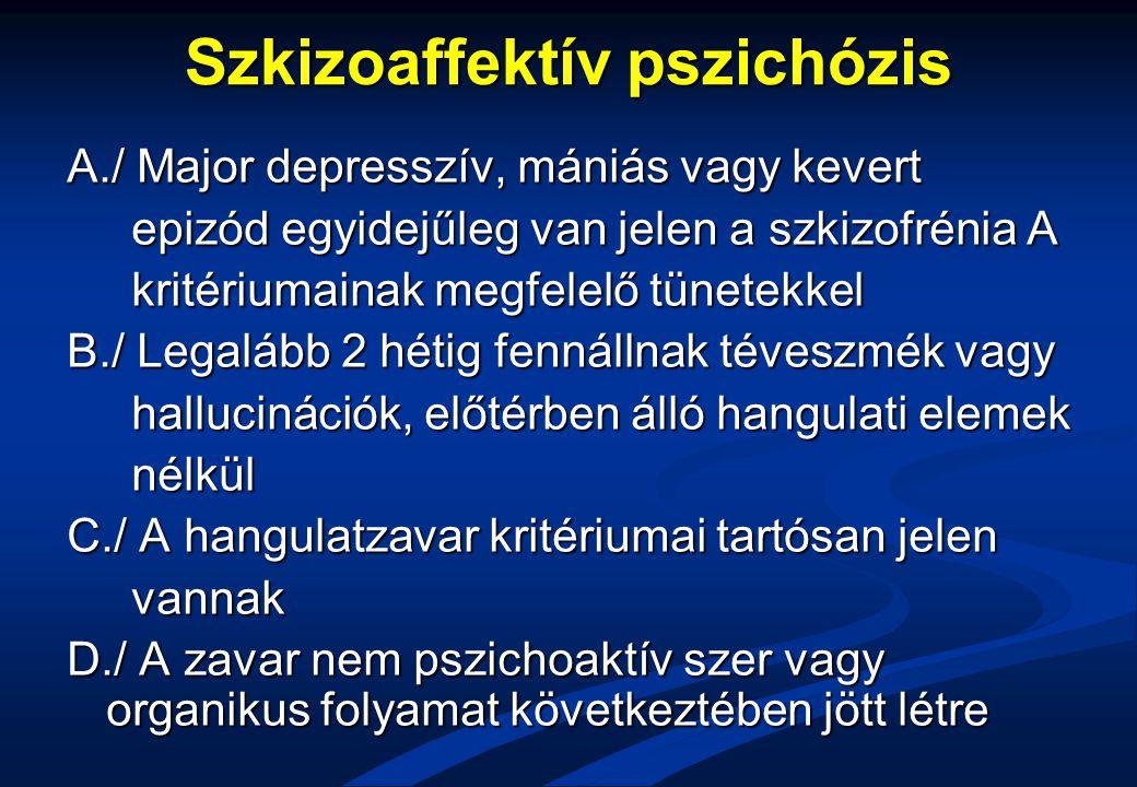 Szkizoaffektív pszichózis