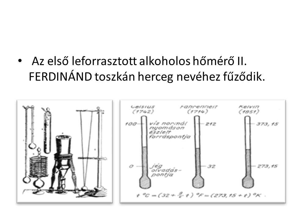 Az első leforrasztott alkoholos hőmérő II