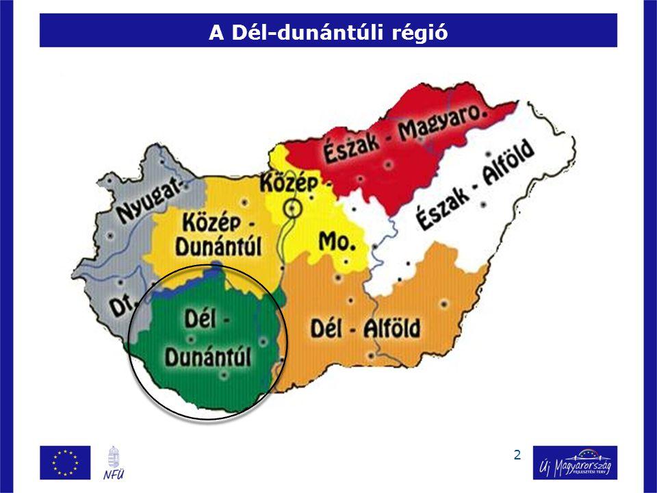 A Dél-dunántúli régió