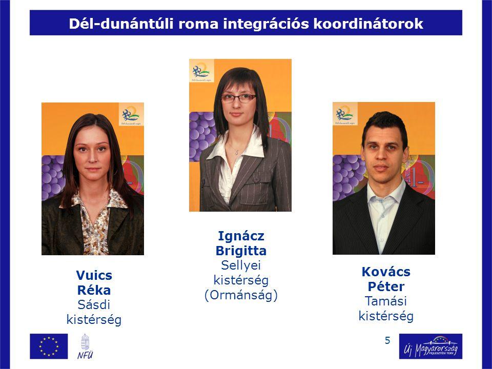 Dél-dunántúli roma integrációs koordinátorok
